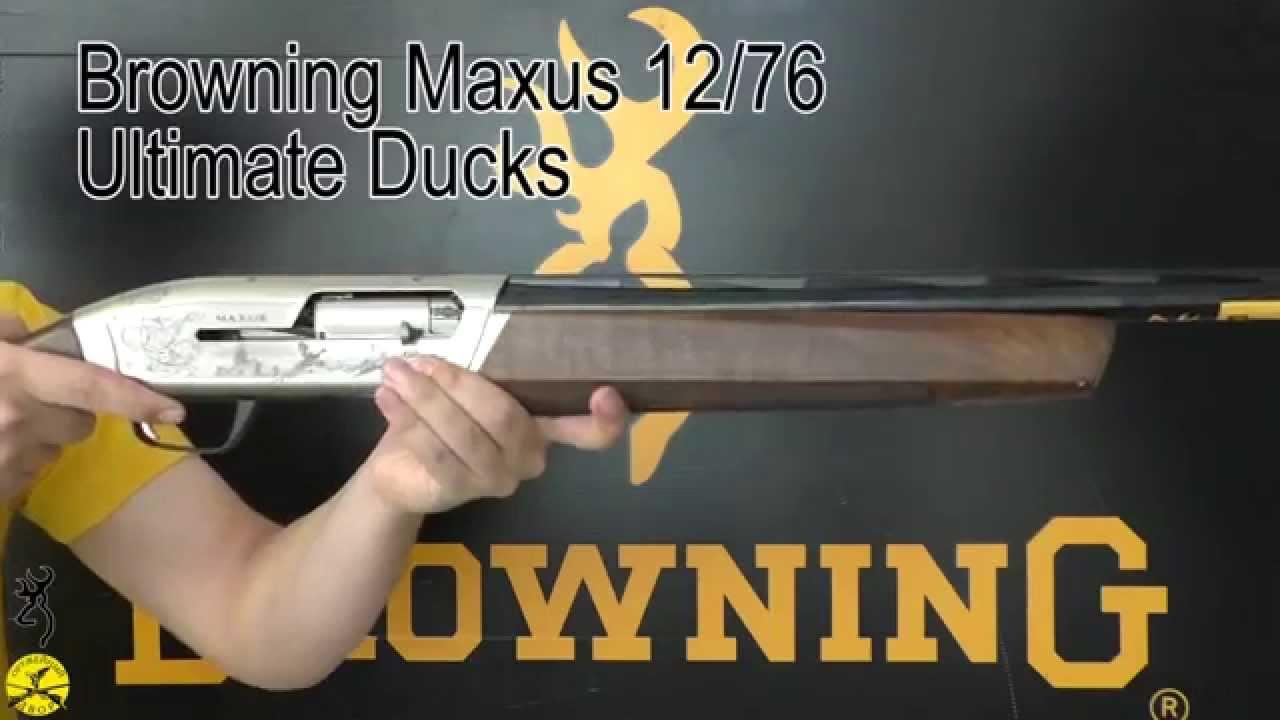 Browning Maxus Ultimate Ducks Youtube