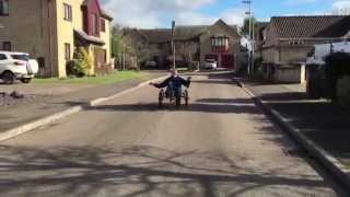 Atomic Zombie Recumbent Trike Steering Shimmy