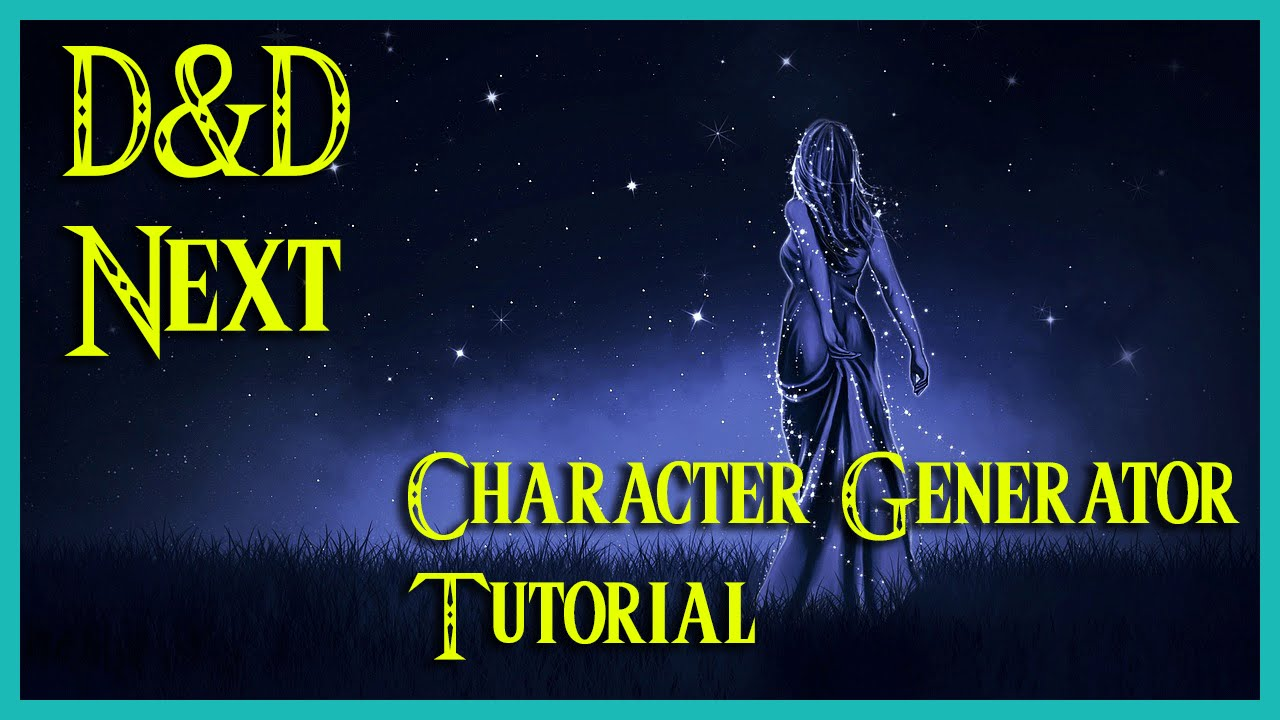 tutorial pathguy dungeons and dragons next 5th edition character