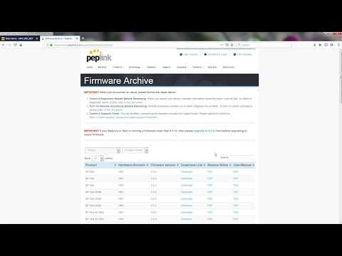 How To Update Peplink Firmware