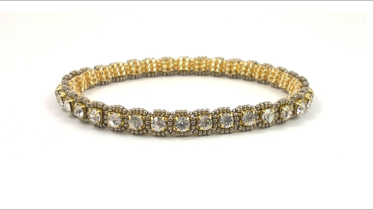 Download Roll on, Roll off..cupchain bangle bracelet beading tutorial