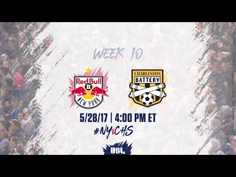 USL LIVE - New York Red Bulls II vs Charleston Battery 5/28/17