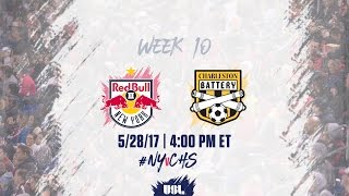 New York Red Bulls USL vs Charleston Battery full match