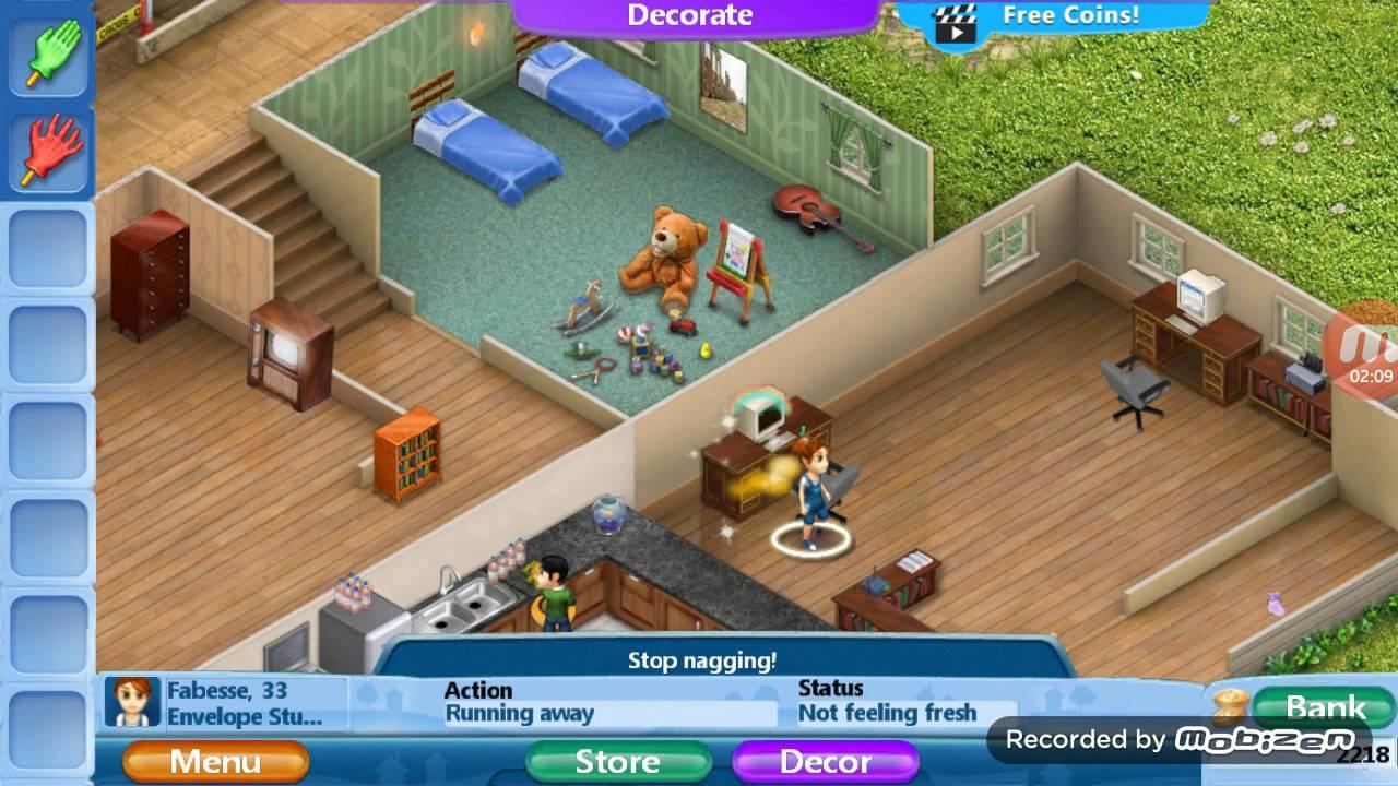 House design virtual families 2 - Cara Membuat Cheat Money Di Virtual Families 2 Android Maaf Dengan Durasinya