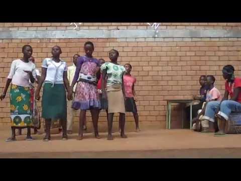Creative Dancing At The Nyumbani Village Social Hall