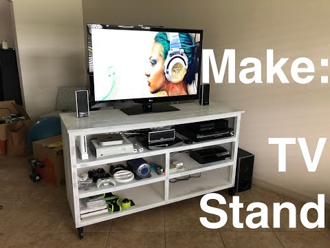 TV Stand Part 2: Building the Top and Shelves