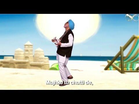 Manmohan Singh Farewell Song : Ro Raha Hoon Main Picchle 9 Saal Se