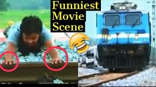 Funny Movie Scenes | RIP Physics 😂😂 | Tollywood vs Bollywood