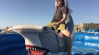 GUY LOSES FIGHT WITH SHARK!!! (12-6-14) [344]