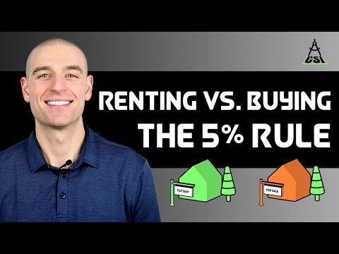 Renting Vs. Buying A Home: The 5% Rule