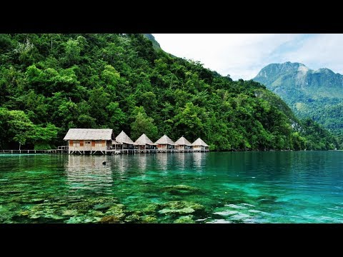 Paradise at Ora Beach, Central Maluku, Maluku, Indonesia