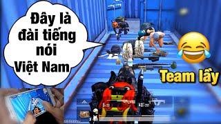 [PUBG Mobile] Cướp Thính Ở Cảng | Gặp Ngay Team Lầy Mở Đài Phát Thanh | Show Thao Tác Tay Solo Squad