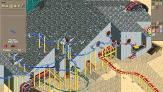 Rollercoaster Tycoon Loopy Landscapes #16 (Volcania: One down, four to go)