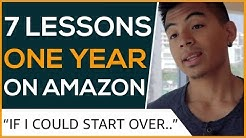 My 7 Biggest Mistakes After One Year Selling On Amazon