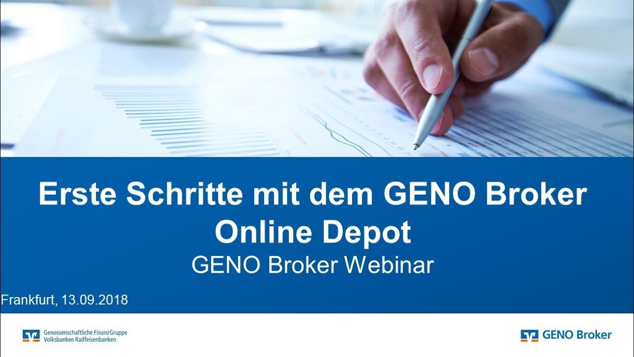 GГјnstiges Online Depot