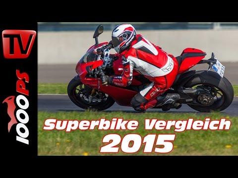 Ducati 1299 Panigale S Test 2015 - 1000cc Vergleich | Bestes Superbike?