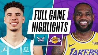 Game Recap: Lakers 116, Hornets 105