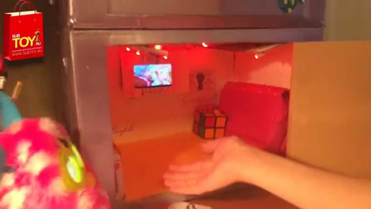 Как сделать дом для ферби бум