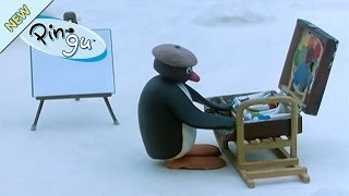 Pingu The Painter- Pingu Official Channel