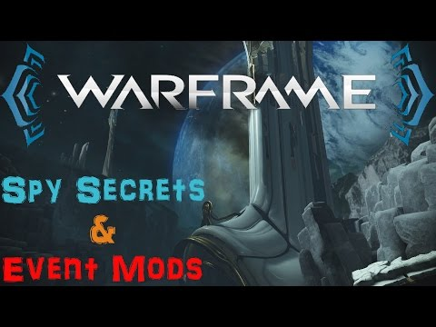 [U18.5] Warframe - All Secrets/Puzzles | Orokin Moon Spy | Event Mods and more! | N00blShowtek