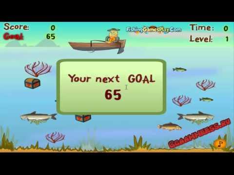 Игры для мальчиков Удачная Рыбалка
