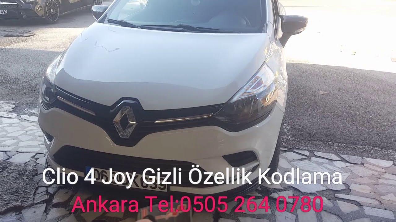 Clio 4 Joy Gizli Özellik Kodlama Ankara