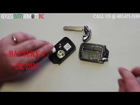 How To A Replace Honda Accord Key Fob Battery 2013 - 2015