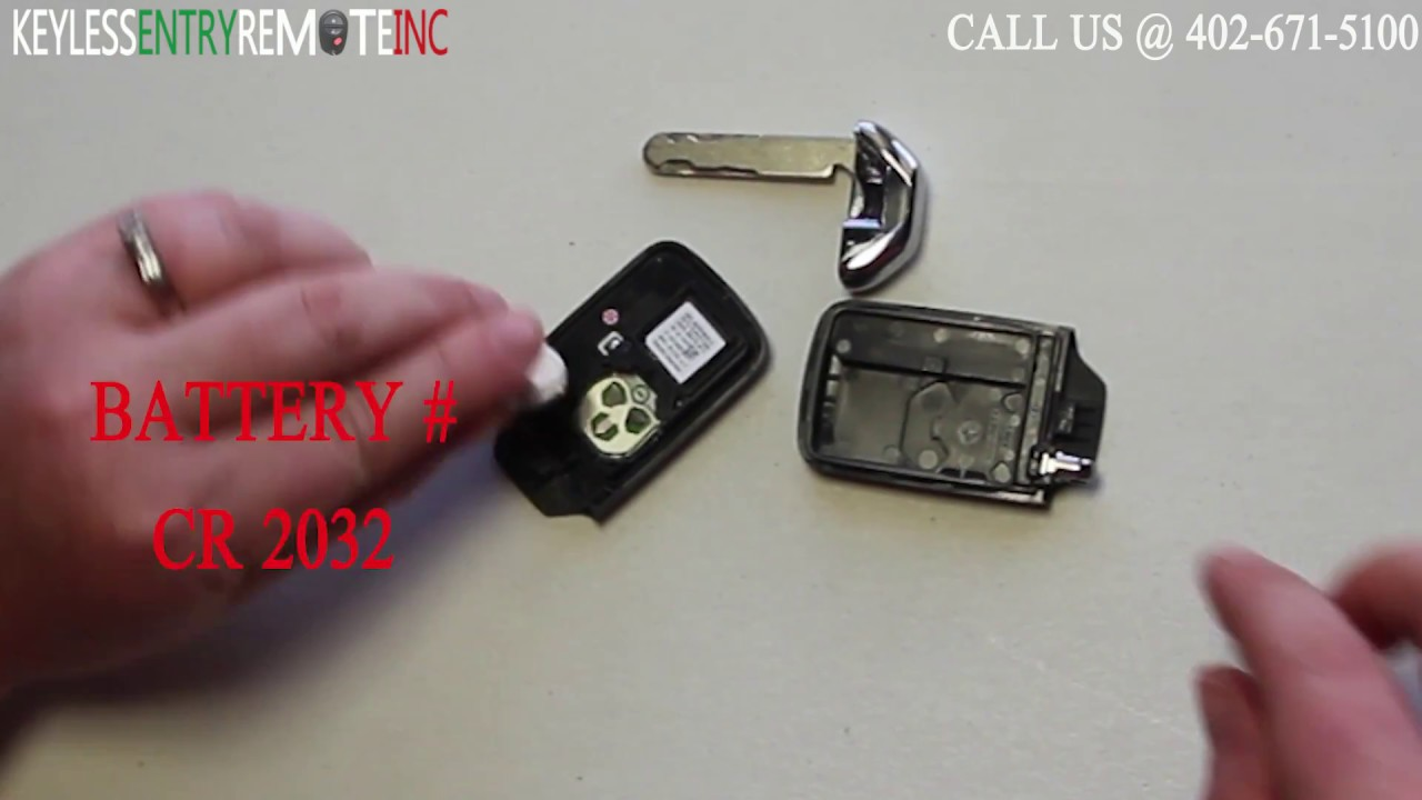 How To A Replace Honda Accord Key Fob Battery 2014 - 2015 ...