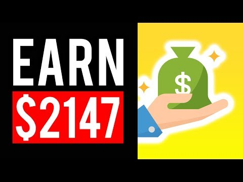 EARN $2147 PER MONTH FOR FREE! 💻 BIG OPPORTUNITY! MAKE MONEY ONLINE in 2020!