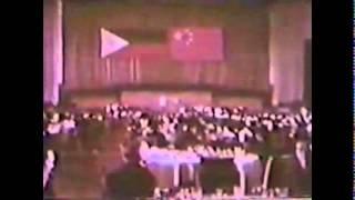 LONG LIVE, Chairman Mao Tse-tung and President FERDINAND EMMANUEL EDRALIN MARCOS