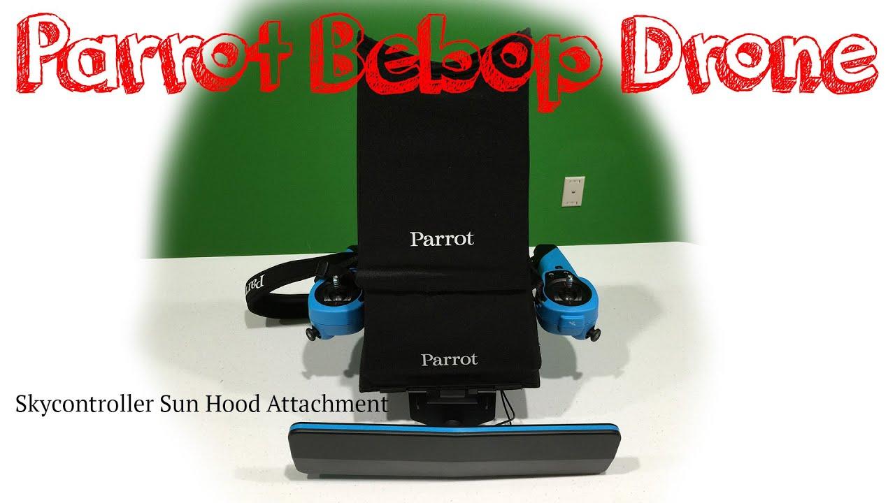 Parrot Bebop Skycontroller Sun Hood Attachment Tutorial in 4K UltraHD