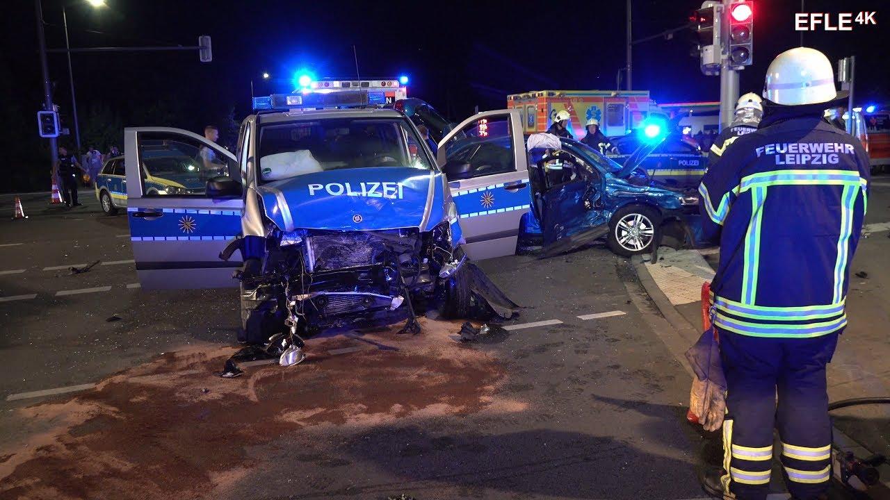 Polizei Leipzig Grünau
