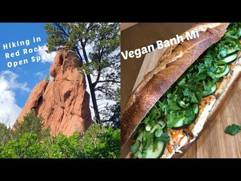Vegan Banh Mi Sandwiches And A Tour Of Red Rocks