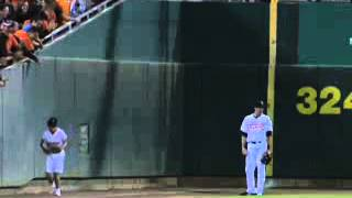 Awesome Ball Girl Catch Baseball in Amazing Gravity Defying Video at Minor League Game True or Fake