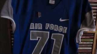 My Air Force Game Worn Jersey Collection (USAF)