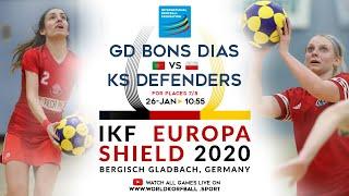 IKF ES 2020 Grupo Desportivo dos Bons Dias - KS Defenders Korfball Wrocław