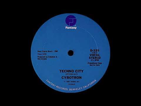 Cybotron - Techno City ( Fantasy Records 1984 )