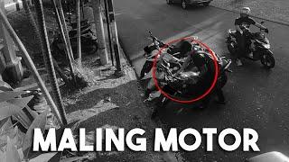 MALING MOTOR DI RUMAH ATTA!!
