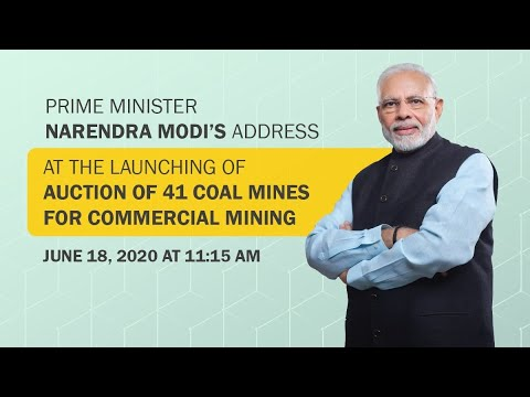 The News @1: 30 pm | PM launches auction of coal mines for commercial coal mining, other top stories