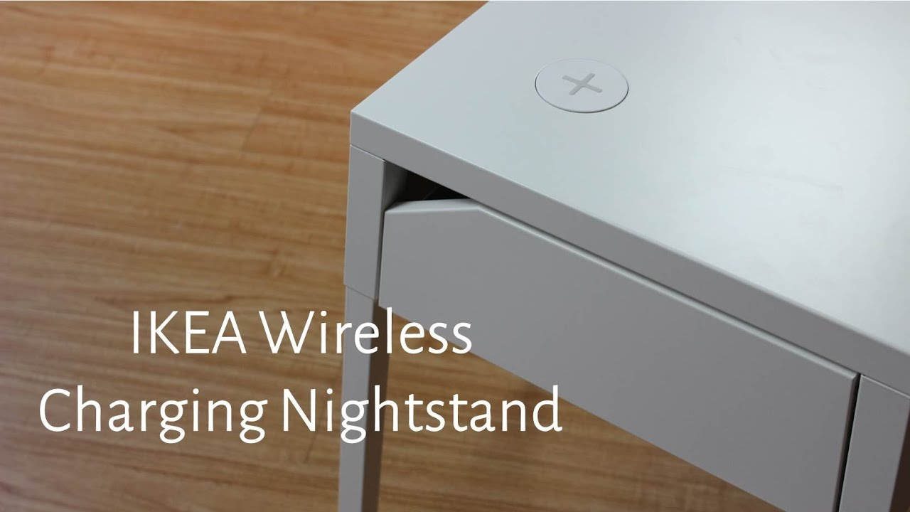 Rehausse Tv Ikea Hands On With Ikea S New Wireless Charging Nightstand
