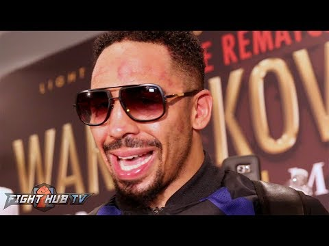 Andre Ward's COMPLETE POST FIGHT REACTION TO KO WIN OVER SERGEY KOVALEV