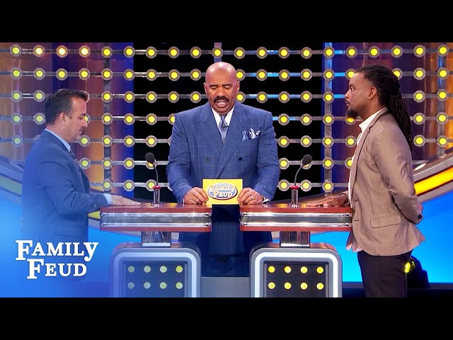 In Hell, you'll be sharing a bed with this person! | Family Feud