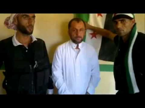 FSA Free Syrian Army   war crimes   abducted and executed 10-6-2012