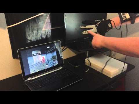 Arduino - Data Glove with Joypad [Half Life Test]
