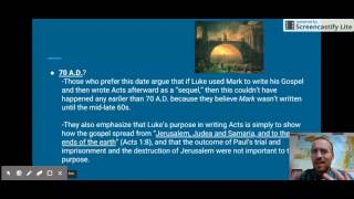 The Resurrection and Intro to Acts, Part 2
