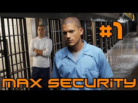 Prison Architect Luxury Max Security - Big Old Walls! #1