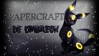 Tutorial Papercraft Umbreon - Caty Sky[Español]