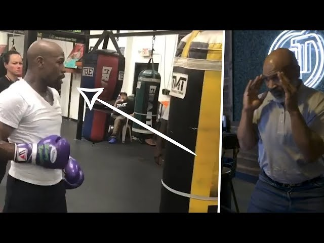 Boxing legends that still look like beasts in the gym today! Mayweather, Tyson, Calzaghe...