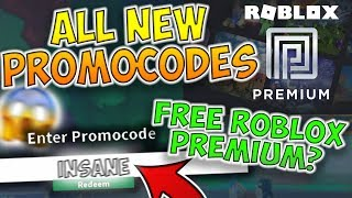 *ROBLOX PREMIUM* NEW FREE ITEMS!! - ROBLOX PROMO CODES 2019!! NEW FREE ROBLOX PREMIUM