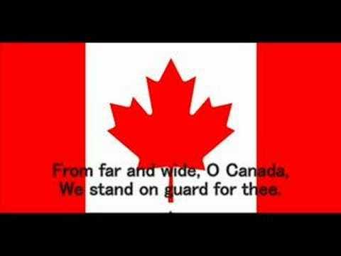 O Canada -English version-